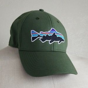 Patagonia Fitz Roy Trout Hat Small Army Green